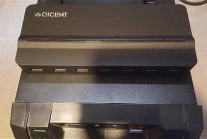 Review QICENT 7 Port USB 3.0 HUB for Window 10 PC and Mac Local