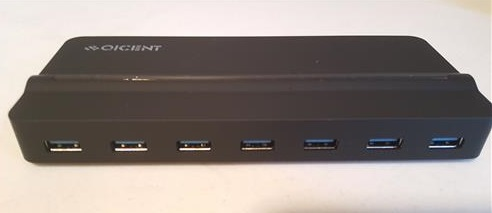 Review QICENT 7 Port USB 3.0 HUB for Window 10 PC and Mac