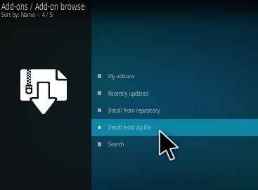 Kodi Tips and Tricks Manual addon install