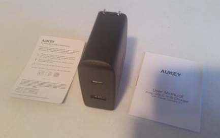 Review Aukey USB-C Wall Charger All