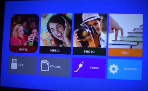 Review GooBang T22 ABOX 2400 Lumens 1080p