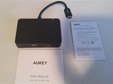 Review USB Type-C HUB with 4 USB 3.0 Ports ALL