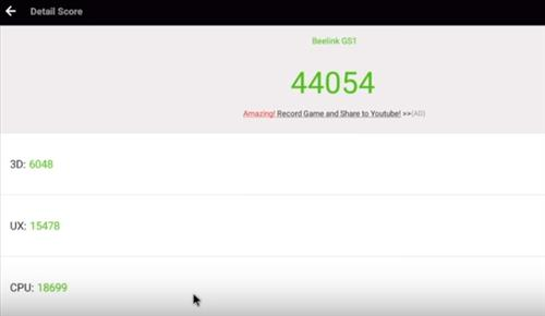 Review Beelink 6K GS1 Android TV Box AnTUTU