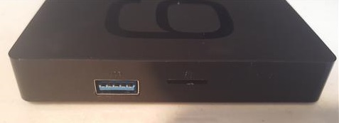 Review Beelink 6K GS1 Android TV Box Side