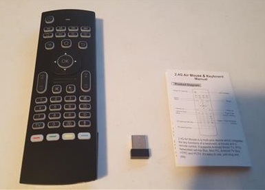 Review MX3 Pro Remote Control with Backlit Mini Wireless Keyboard and Air Mouse ALL
