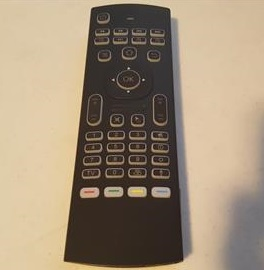 Review MX3 Pro Remote Control with Backlit Mini Wireless Keyboard and Air Mouse