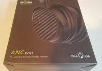 Review V201 Active Noise Cancelling Bluetooth Headphones