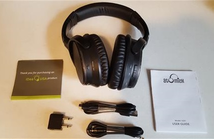Review V201 Active Noise Cancelling Bluetooth Headphones ALL