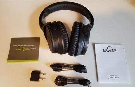 ce3c5cb331c Review: V201 Active Noise Cancelling Bluetooth Headphones | WirelesSHack