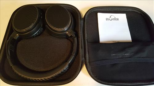 Review V201 Active Noise Cancelling Bluetooth Headphones Case