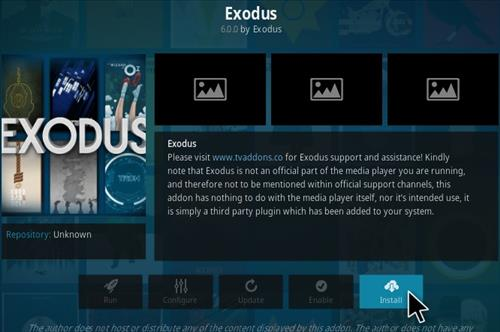 How To Install Exodus 6.0 Kodi Addon Step 19