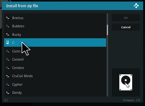 How To Install Kodi NAN Scrappers Dependency pic 1