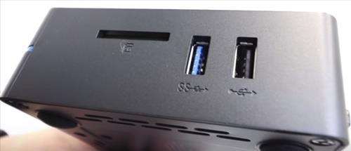 Review Azulle Byte3 Windows 10 Fanless Mini PC Side
