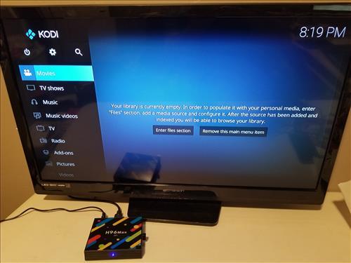Review H96 MAX H1 Android TV Box RK3328 4GB Kodi 1