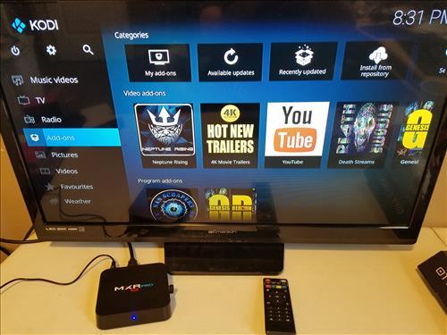 Review MXR PRO 4K TV Box RK3328 4GB RAM Android 7.1 Kodi