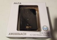 Review Alfa AWUS036ACH AC 1200 Wireless USB Adapter