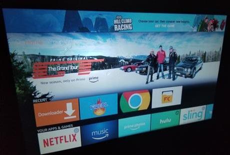 Review Alfawise X 3200 Lumens HD 1080P 4K Smart Projector Fire Stick 2