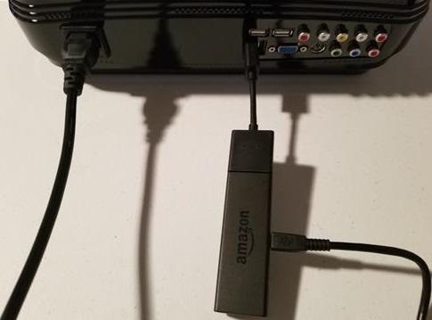 Review Alfawise X 3200 Lumens HD 1080P 4K Smart Projector Fire Stick