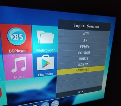 Review Alfawise X 3200 Lumens HD 1080P 4K Smart Projector Inputs 2