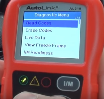 Review Autel AutoLink AL319 OBDII Scan Tool Read Codes
