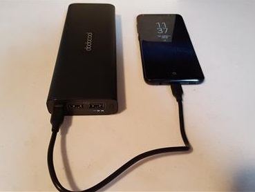 Review DodoCool 20100mAh 45W PD Type-C Portable Charging Bank Charging