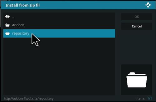 How to Install Incursion Kodi Plugin Step 12
