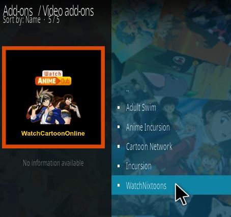 How To Install WatchNixtoons Kodi Anime Addon | WirelesSHack