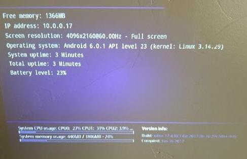 Review H96 P DLP Mini 100 Lumens 4K Projector Kodi