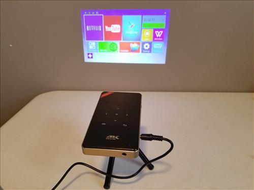 Review H96 P DLP Mini 100 Lumens 4K Projector