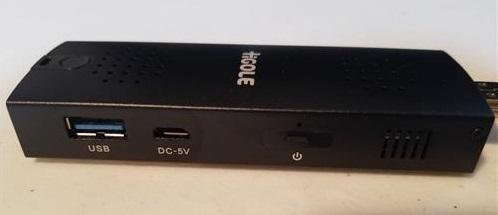 Review HIGOLE D2 Mini PC Stick R side