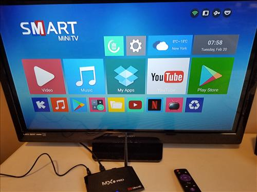 Review MX9 PRO Android TV Box RK3328 CPU 4GB RAM Launcher