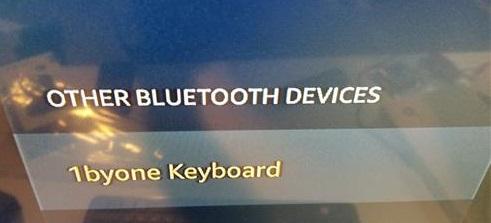 Best Amazon Fire TV Stick Bluetooth Keyboard 2018 1byone Pair