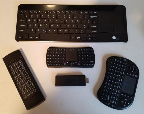 Best Amazon Fire TV Stick Bluetooth Keyboard 2018