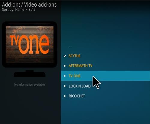 How To Install TV One Kodi IPTV Addon Sandman Repo Step 17