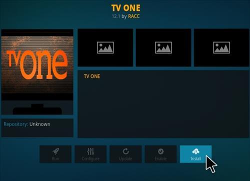 How To Install TV One Kodi IPTV Addon Sandman Repo Step 18