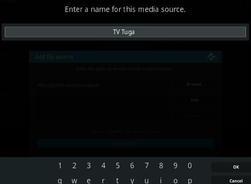 How To Install TV Tuga Milhano IPTV Kodi Addon Step 6