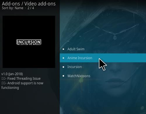 How to Install Anime Incursion Kodi Add-on Step 19