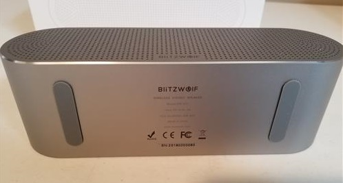 Review Blitzwolf BW-AS1 Bluetooth Speaker Bottom