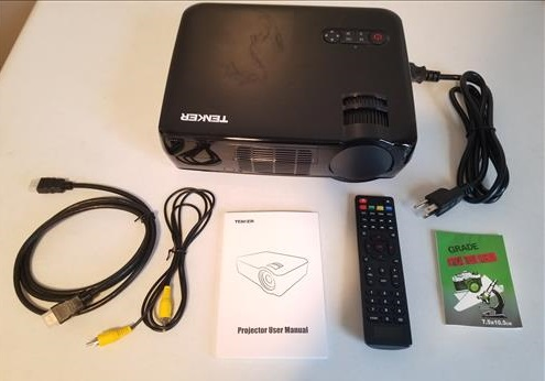Review Tenker 33-06 HD 1080p Video Projector ALL