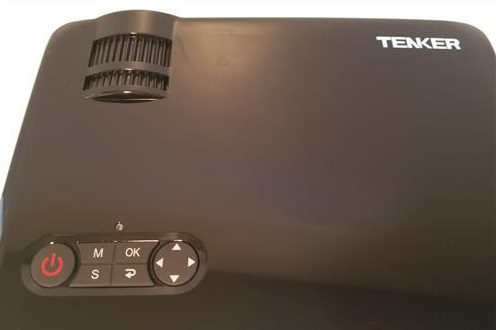 Review Tenker 33-06 HD 1080p Video Projector TOP