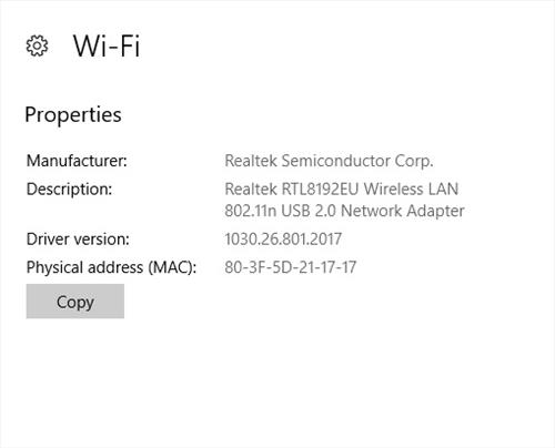 DodoCool WiFi N Adapter Chipset