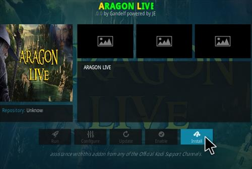 How To Install Aragon Live Kodi Addon Step 18