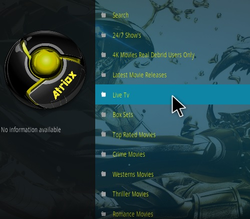 How To Install Atriox Kodi addon New Pic Overview
