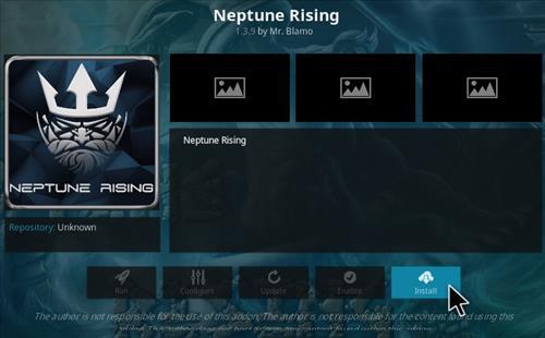How To Install Blamo Repo and Neptune rising Kodi Addon 2018 Step 18