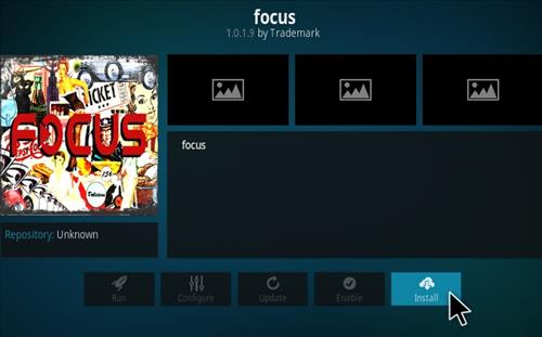 How To Install FOCUS Kodi Addon Step 18