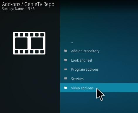 How To Install GENIETV Kodi Addon Step 16