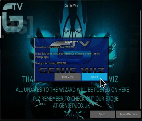 how to add wizard addons to kodi tv box