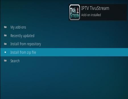 How To Install IPTV Tivo Stream Kodi Addon Step 14