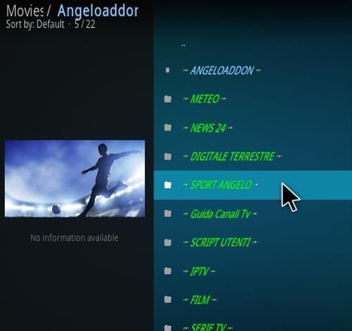 How To Install Kodi Angelo Addon IPTV Overview 2