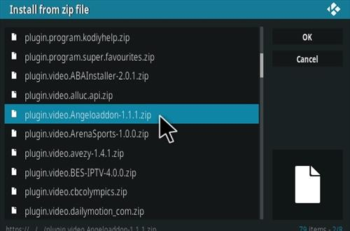 How To Install Kodi Angelo Addon IPTV Step 12